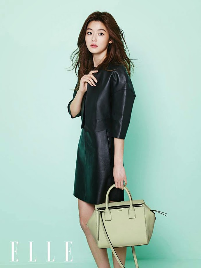 Jeon Ji Hyun - Elle February 2014