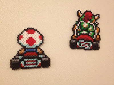 Nathan Vs Perler Beads Part 1 Super Mario Bros Off