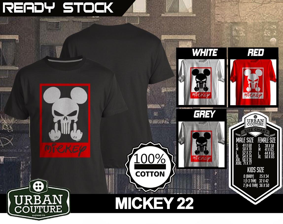 Mickey Mouse T Shirt Uc Distro 02 Kaos Bola Shirts