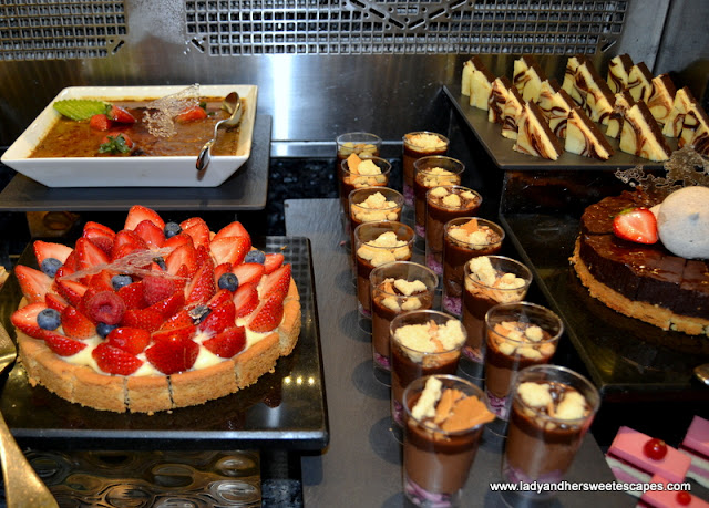 buffet at Flavours on Two