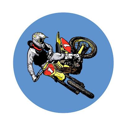 dirt bike rider, motorbike