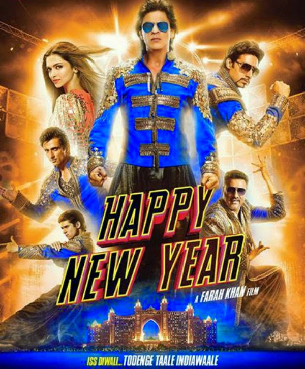Happy New Year 2014 movie pic