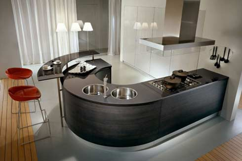 Azya muebles dise o de cocinas modernas for Diseno de cocinas peru