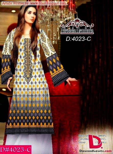 Classic Cambric Winter Dress Collection 2014