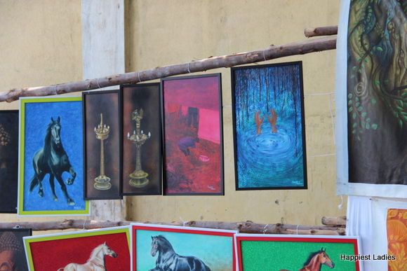 painting exhibition mysore dasara 2015
