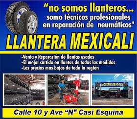 LLANTERA MEXICALI