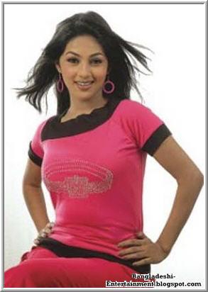 Bangladeshi actress Monalisa