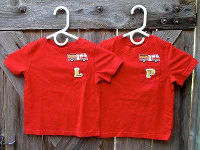 Firetruck T-shirts