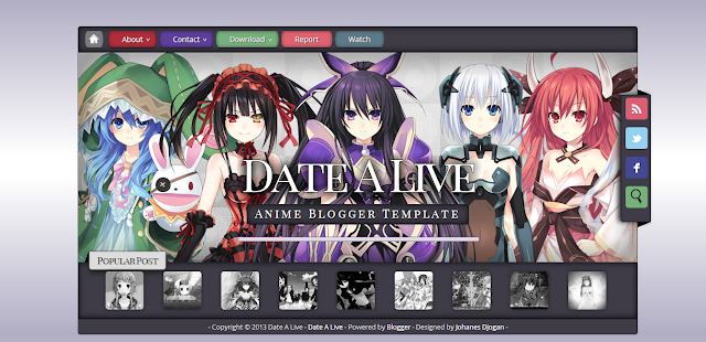 Download Template Anime 10