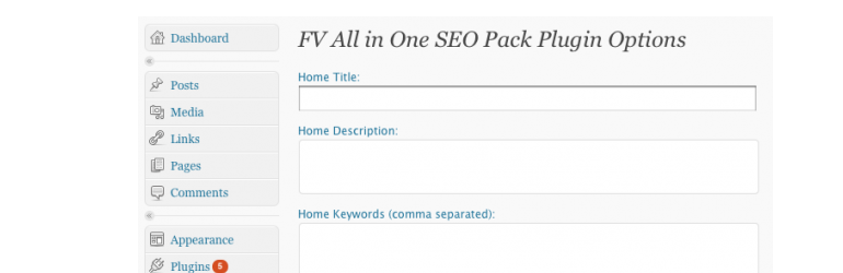 FV Simpler SEO Pack