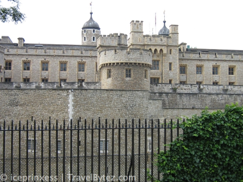 Tower of London from the outside