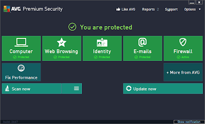 AVG Free Edition 2013 13.0.2677 features