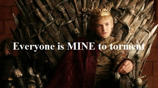 Everyone is Mine to Torment - King Joffrey