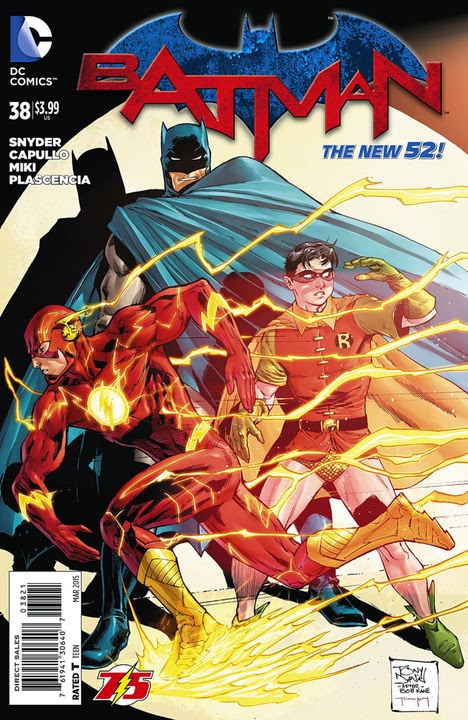 Batman #38 Flash Variant