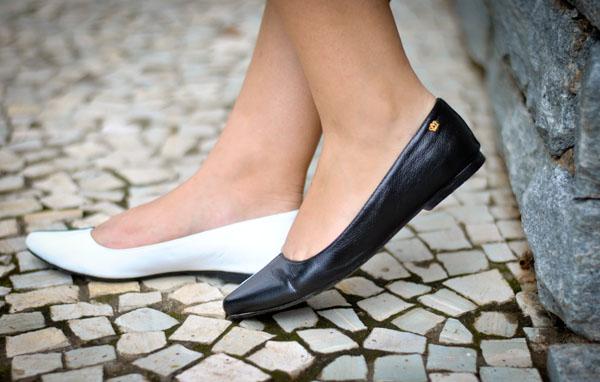 Sapatilha Miti Shoes p&b - tendência de inverno