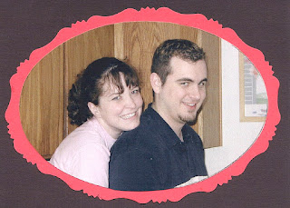 Jill and Chris Plumb in the early 2000s before wedding