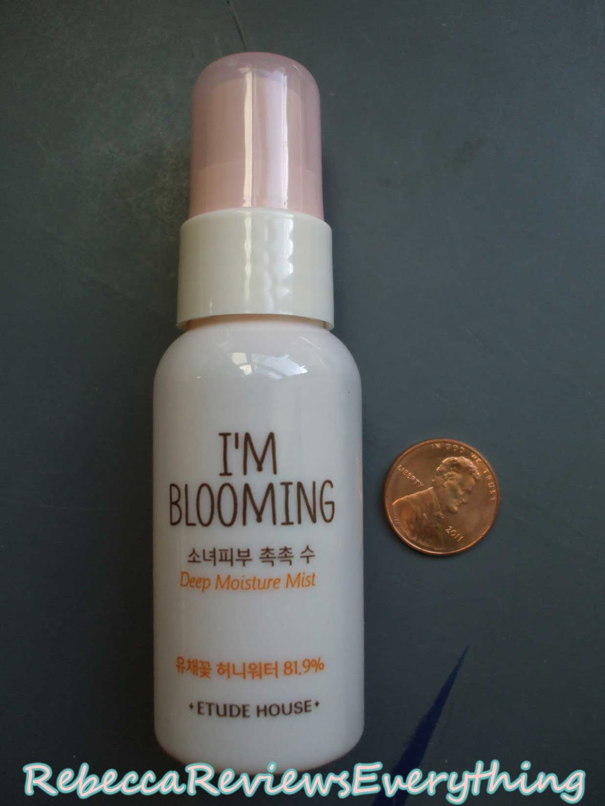 Etude House I'm Blooming pocket mist mini sample