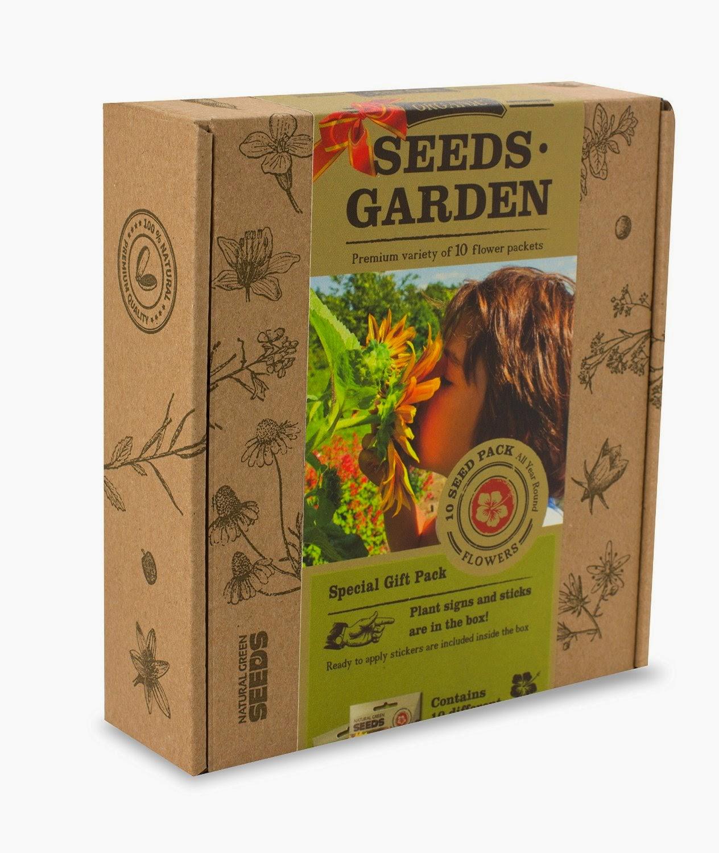 Organic Garden Seed Sets