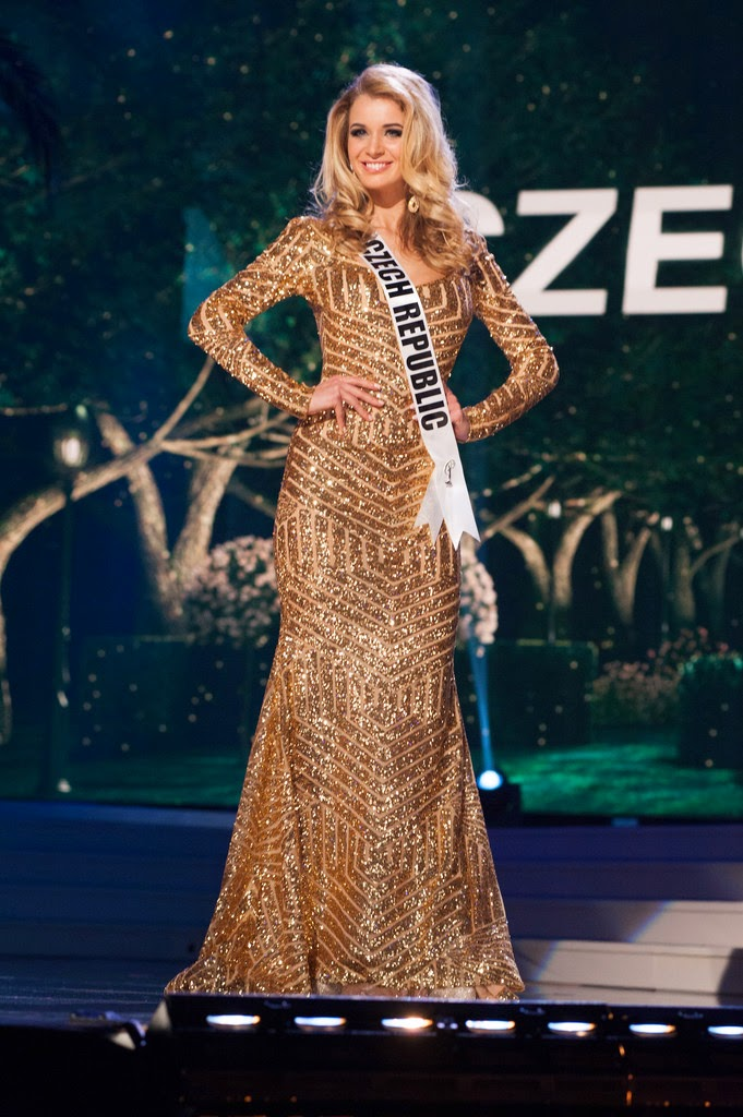 Sashes And Tiarasmiss Universe 2014 Preliminaries Evening Gowns