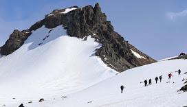 El Comercio en la Antártida: El retroceso del glaciar Znosko