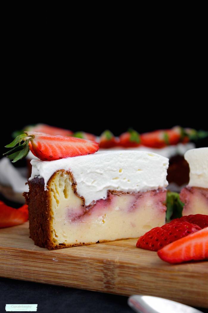 Receta de tarta de yogur y queso