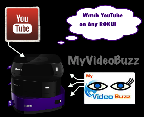 Best Roku Youtube channel MyVideoBuzz