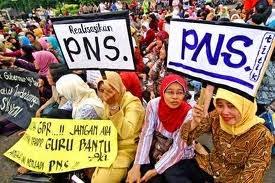 Forum Honorer Indonesia Tuntut Janji Menpan