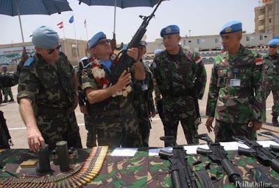 Alutsista Indobatt Jadi Standar Misi Perdamaian di Libanon