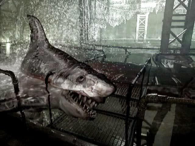 Resident Evil Remake Shark