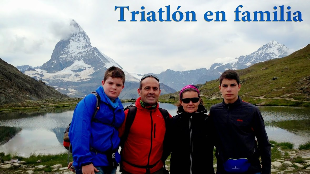 Triatlon en familia