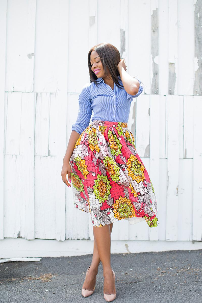 Zuvaa floral skirt