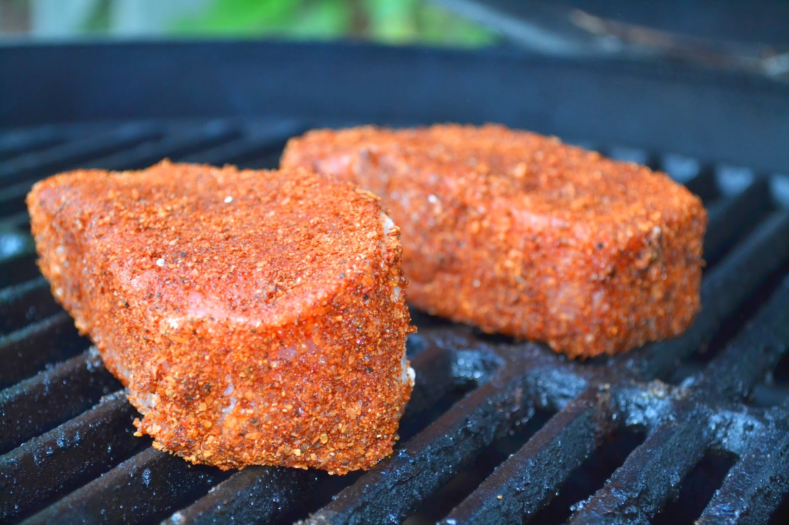 Weekend Food Project: Pork Chops on the Big Green Egg