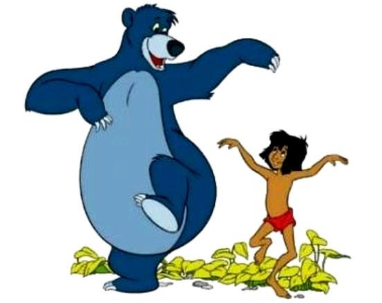 Mowgli and Baloo 2