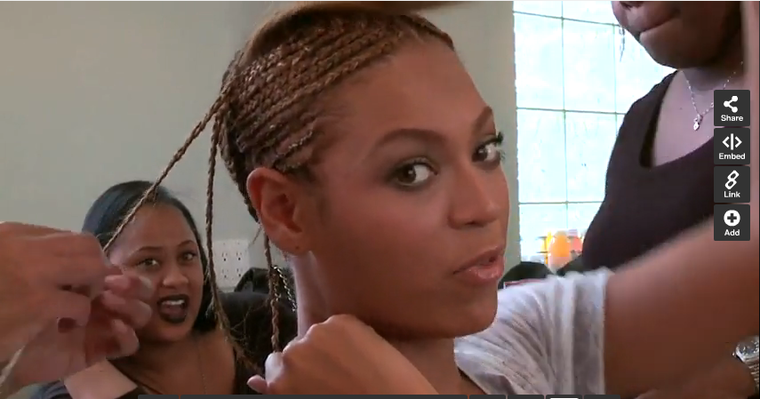 Beyonces Hair Extension 24