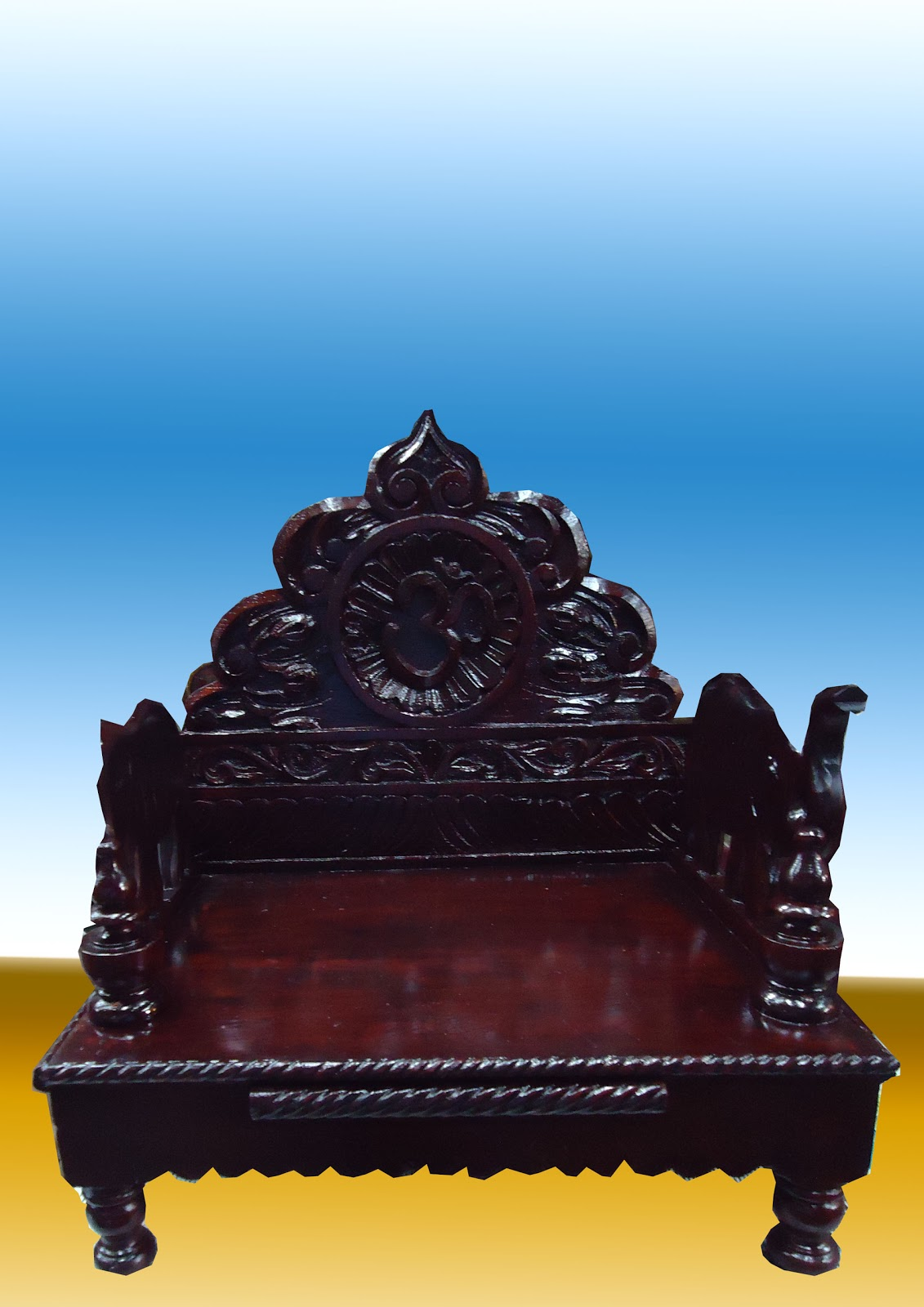 D B Furniture Singhasan : woodensinghashancopy from dbtemples.blogspot.com size 1131 x 1600 jpeg 200kB