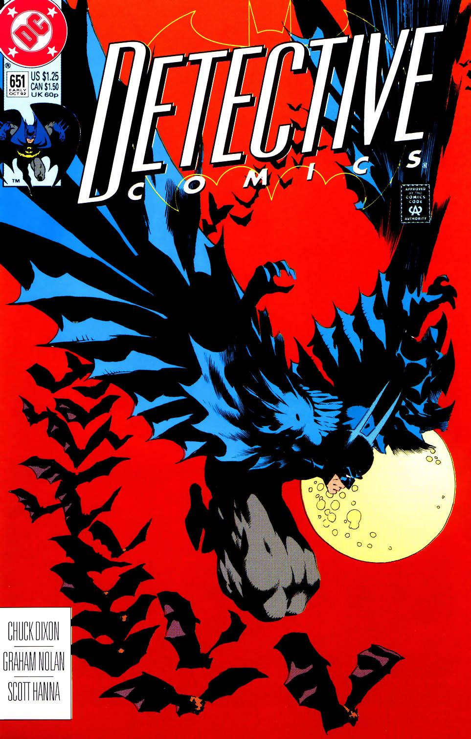 Detective Comics (1937) 651 Page 1