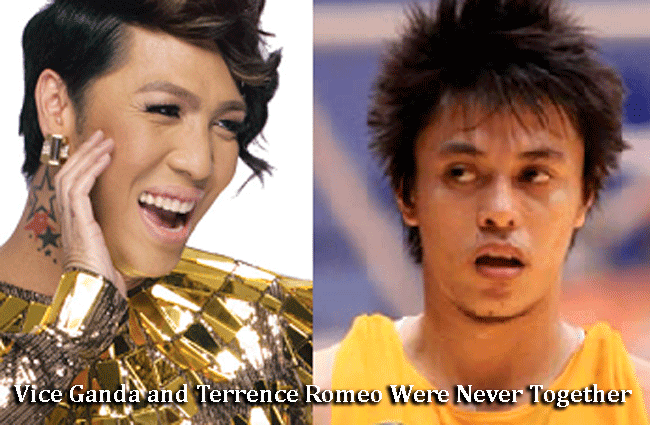 Vice Ganda Confirm that he and Terrence Romeo Were Never Together