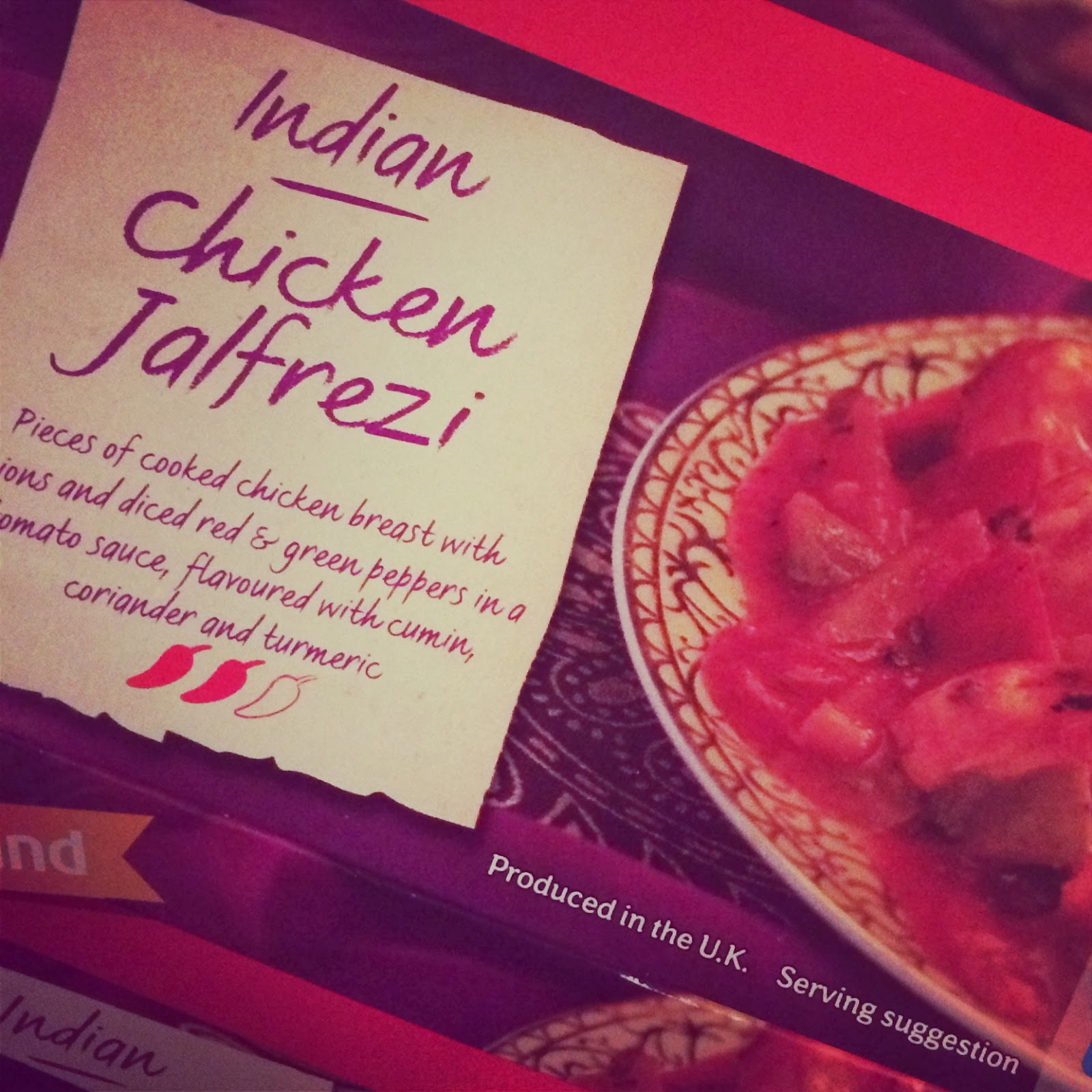 slimming world chicken jalfrezi