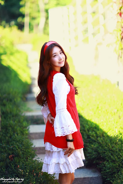 3 Park Hyun Sun outdoor - very cute asian girl-girlcute4u.blogspot.com