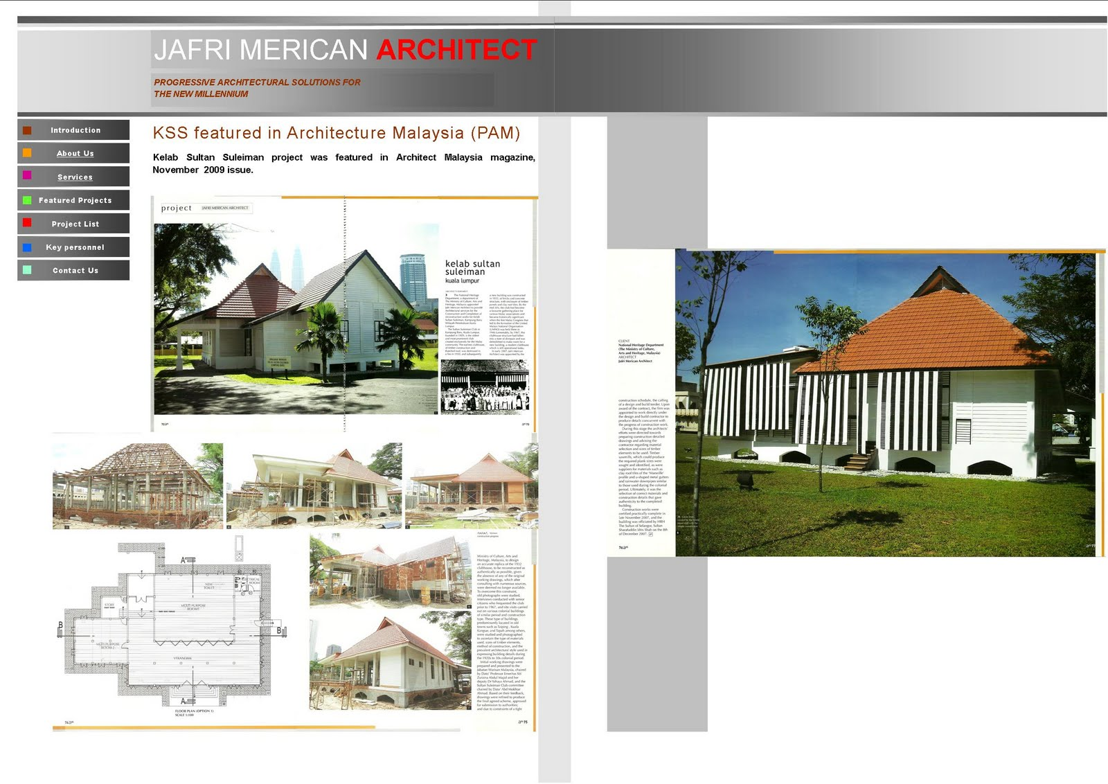 jafri merican architect cv kss featured in architecture cv kss featured in architecture pam