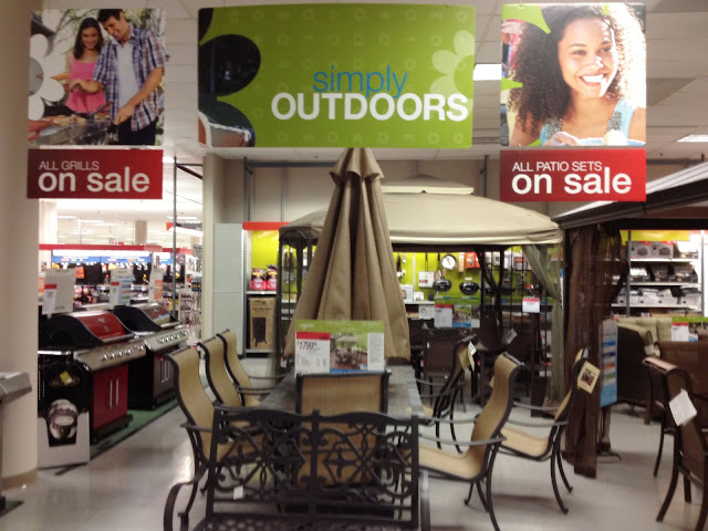 Simply Outdoors at SEARS