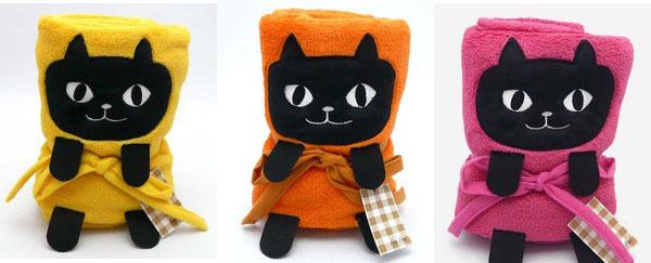 捲捲貓咪毯子 3個色款