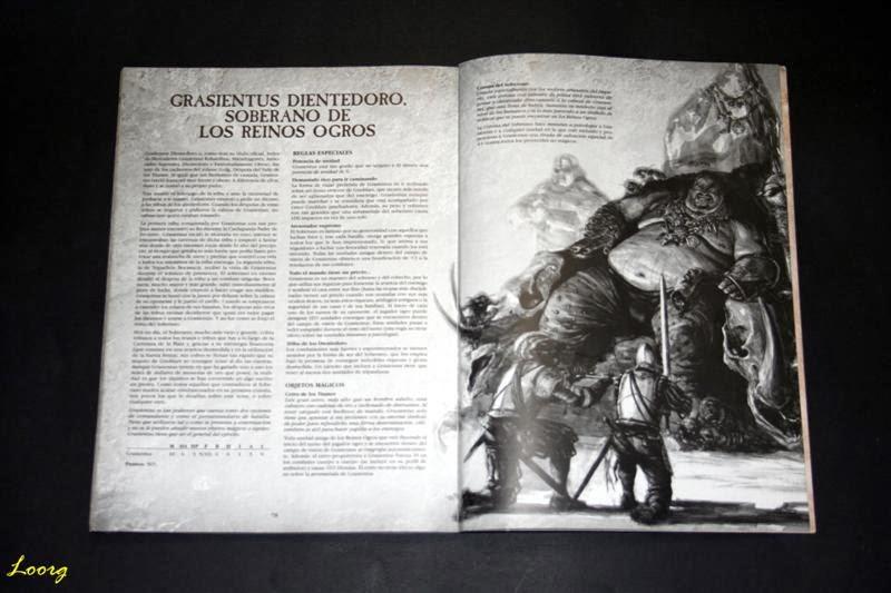 Personajes especiales del Ejércitos Warhammer: Reinos Ogros