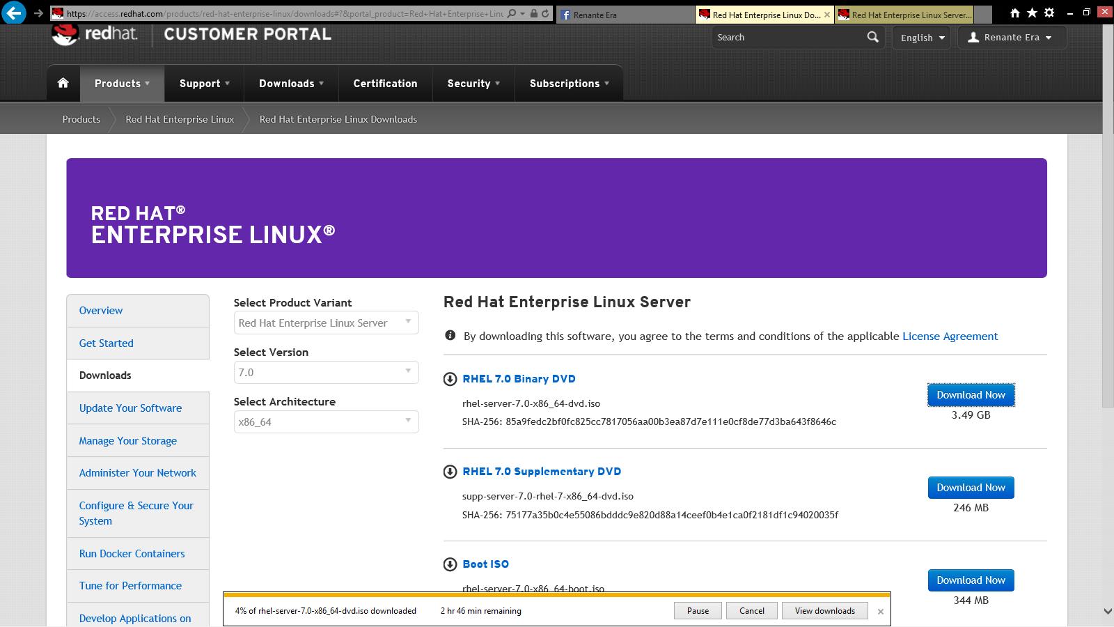 red hat enterprise server 6 iso download