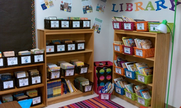 Classroom Design Literature ~ The sweet life of third grade classroom library show off