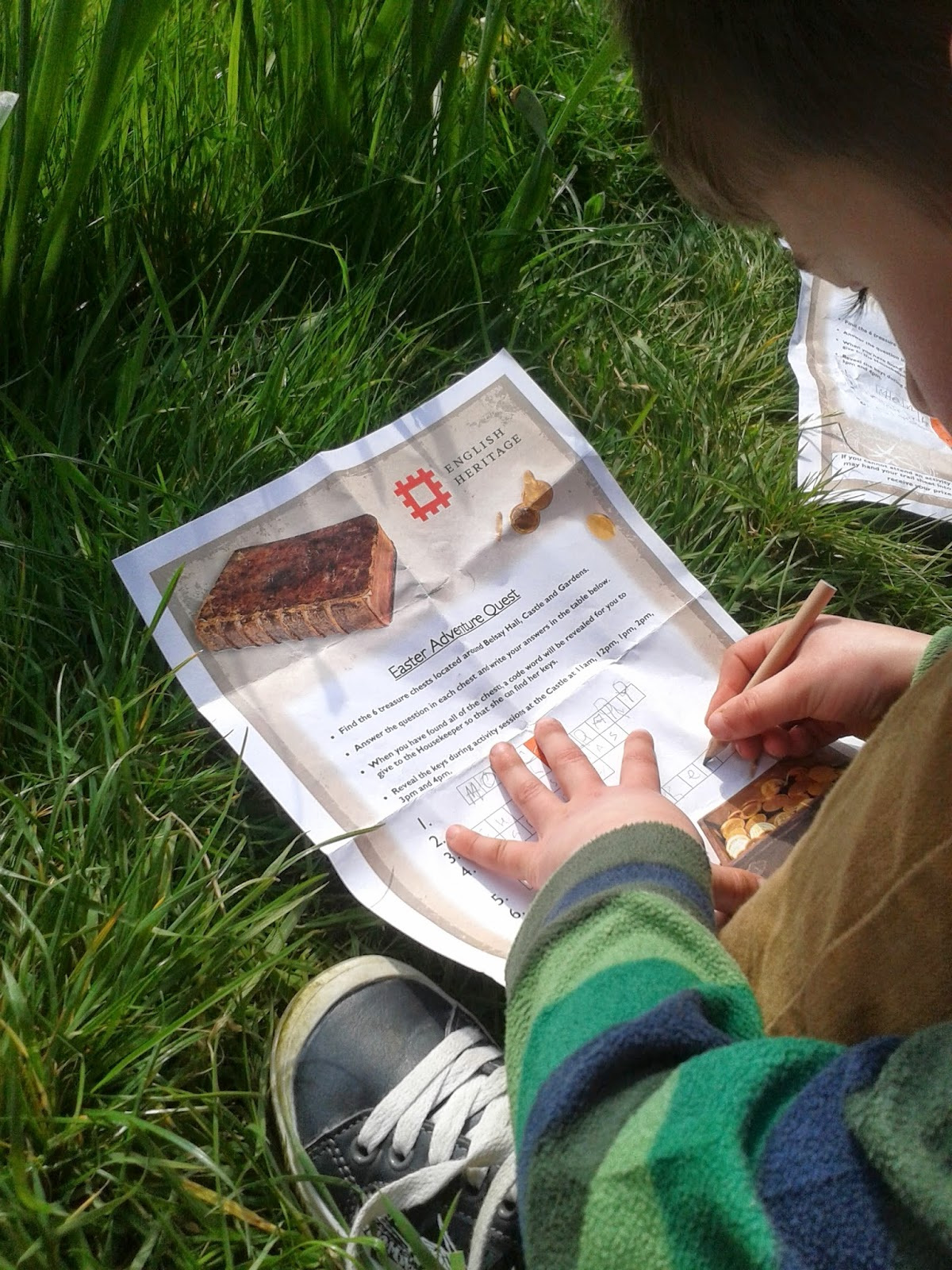Activities for children at National Trust.