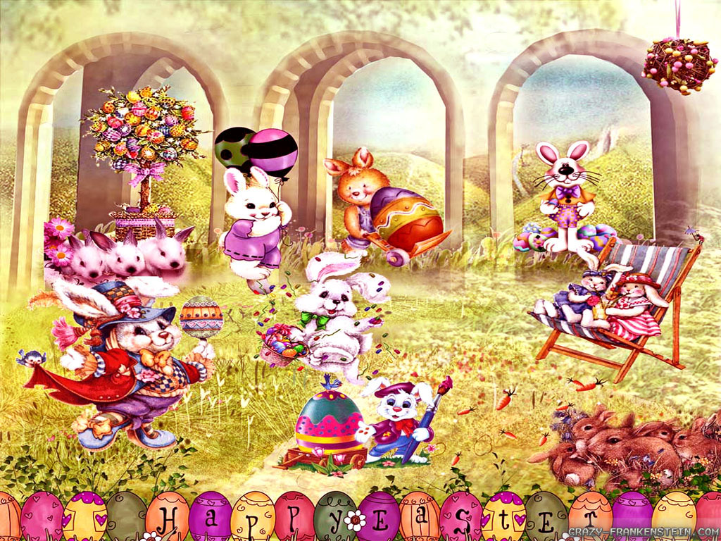 Picasa Pics Store Free Happy And Cute Easter Wallpaper