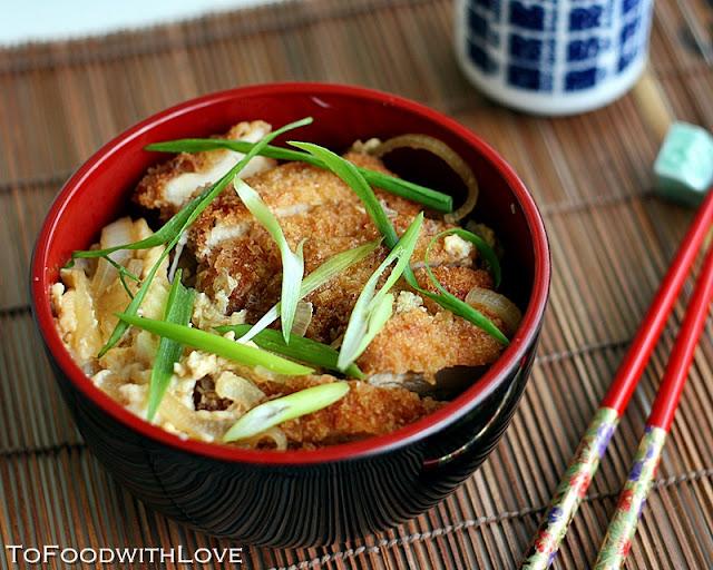 ... with Love: Chicken Katsu Don (Deep-fried Chicken Cutlet Rice Bowl