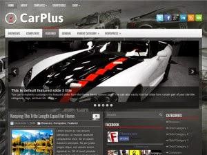 CarPlus - Free Wordpress Theme