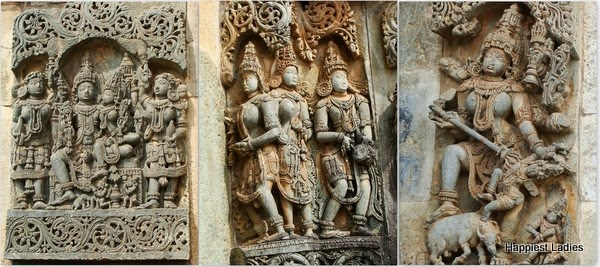 purana stories hoysala temple sculpture